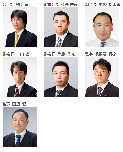 平成24年度役員
