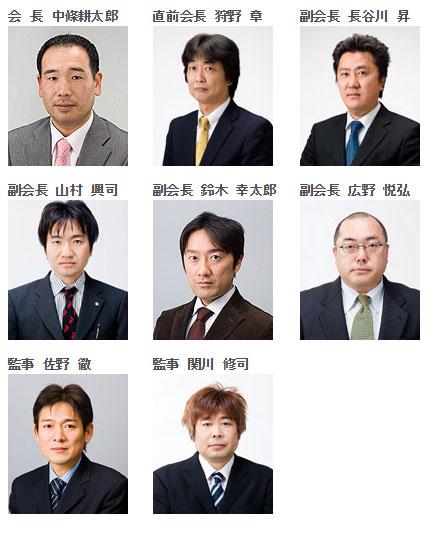 平成25年度役員